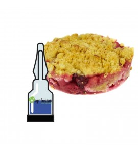 Arôme crumble fruits rouges Vap'fusion